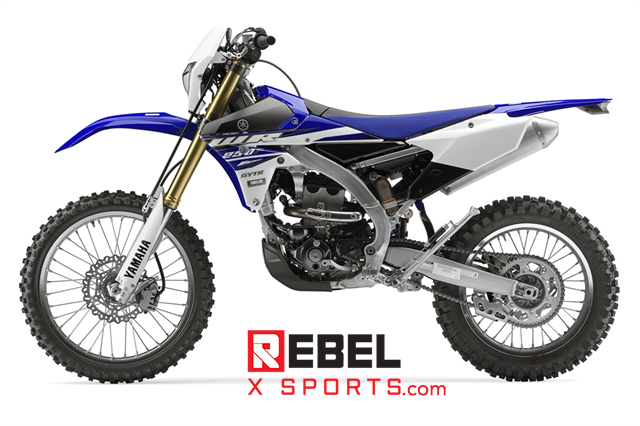 WR250F 2015 Yamaha Electric Start