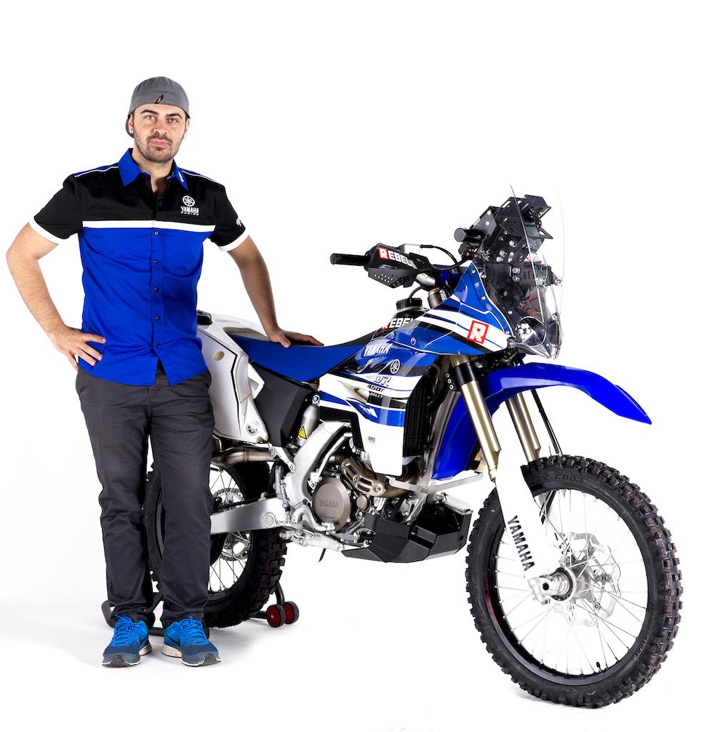 Yamaha WR 450 F Rally Dakar 2015 Manuel Lucchese Campione del Mondo