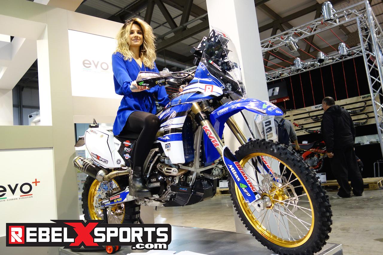 EICMA 2015 Yamaha Rally Dakar