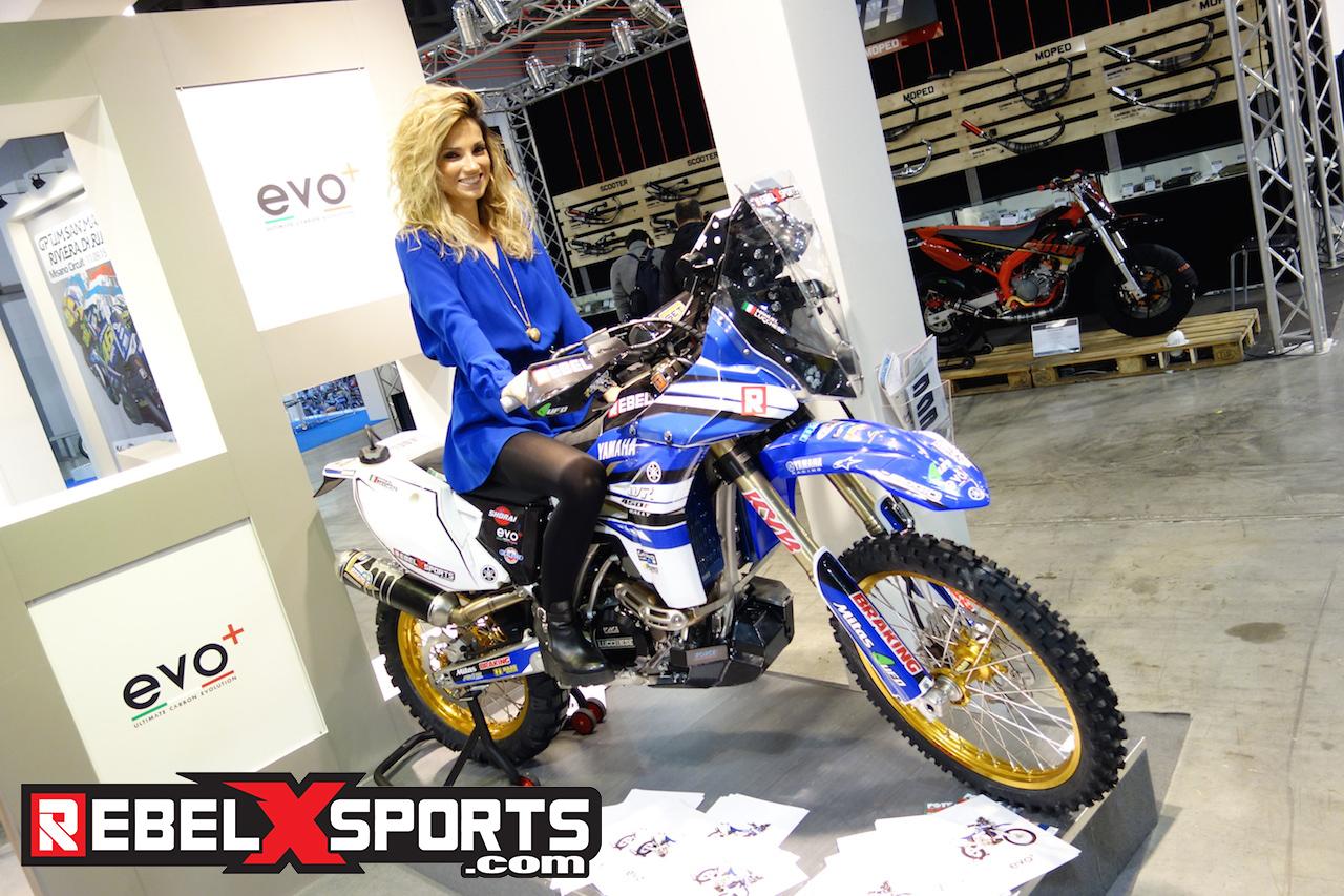 Eleonora Dal Prà Dakar Rebel X sports