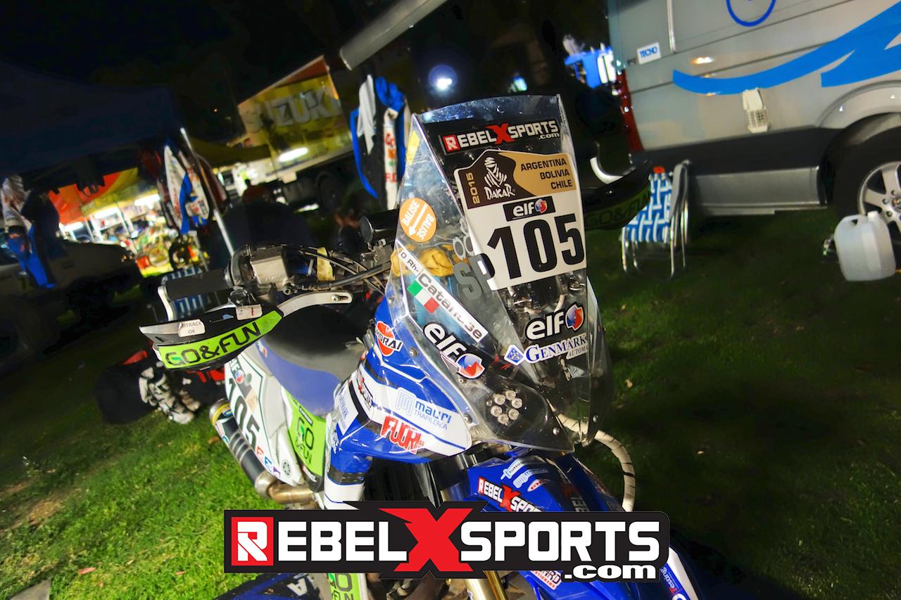 Yamaha WR450F Rally 2015