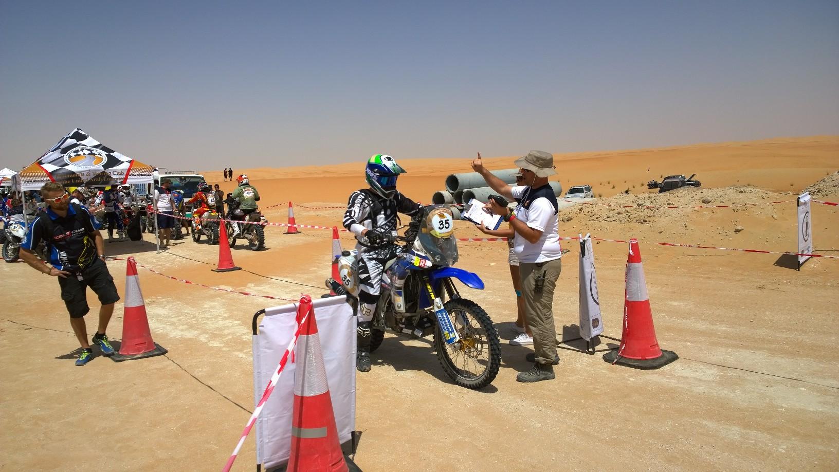 Abu Dhabi Desert Challenge 2015 Yamaha WR450F Rally 1