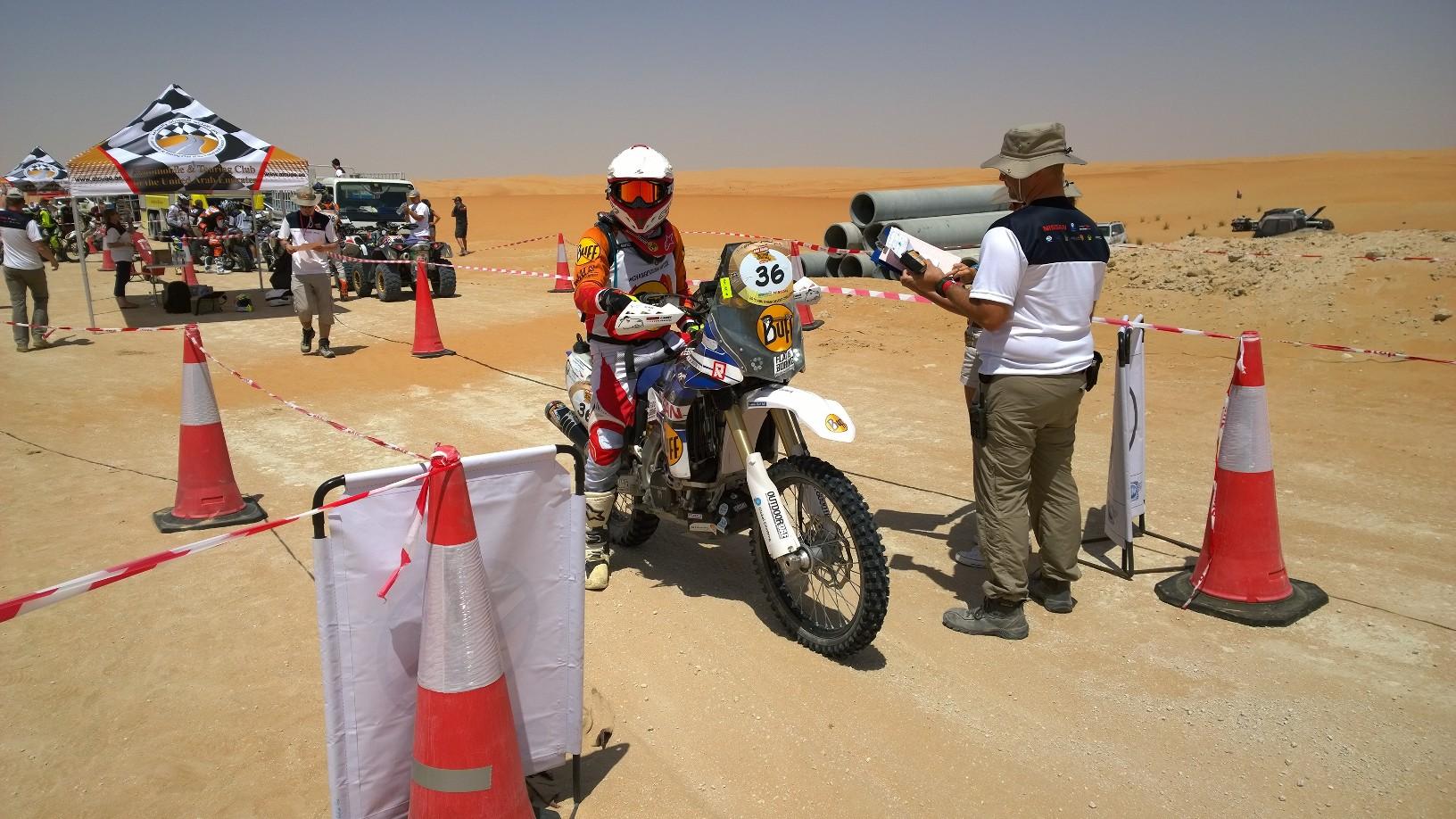 Abu Dhabi Desert Challenge 2015 Yamaha WR450F Rally 10