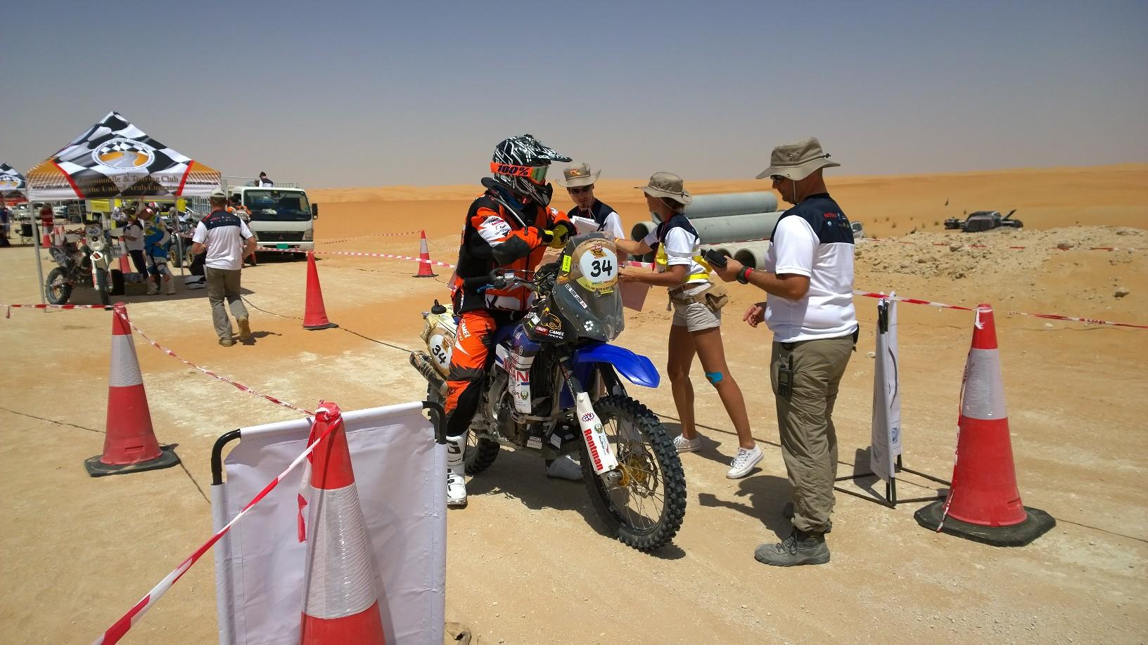 Abu Dhabi Desert Challenge 2015 Yamaha WR450F Rally 11