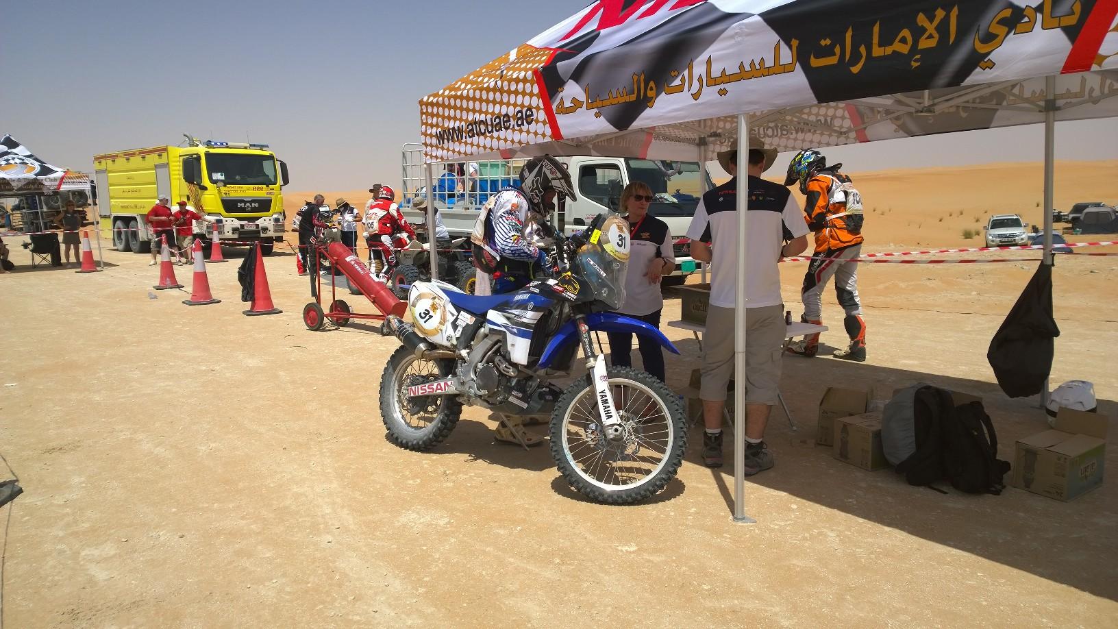 Abu Dhabi Desert Challenge 2015 Yamaha WR450F Rally 12