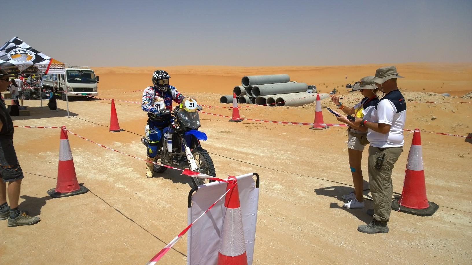Abu Dhabi Desert Challenge 2015 Yamaha WR450F Rally 13