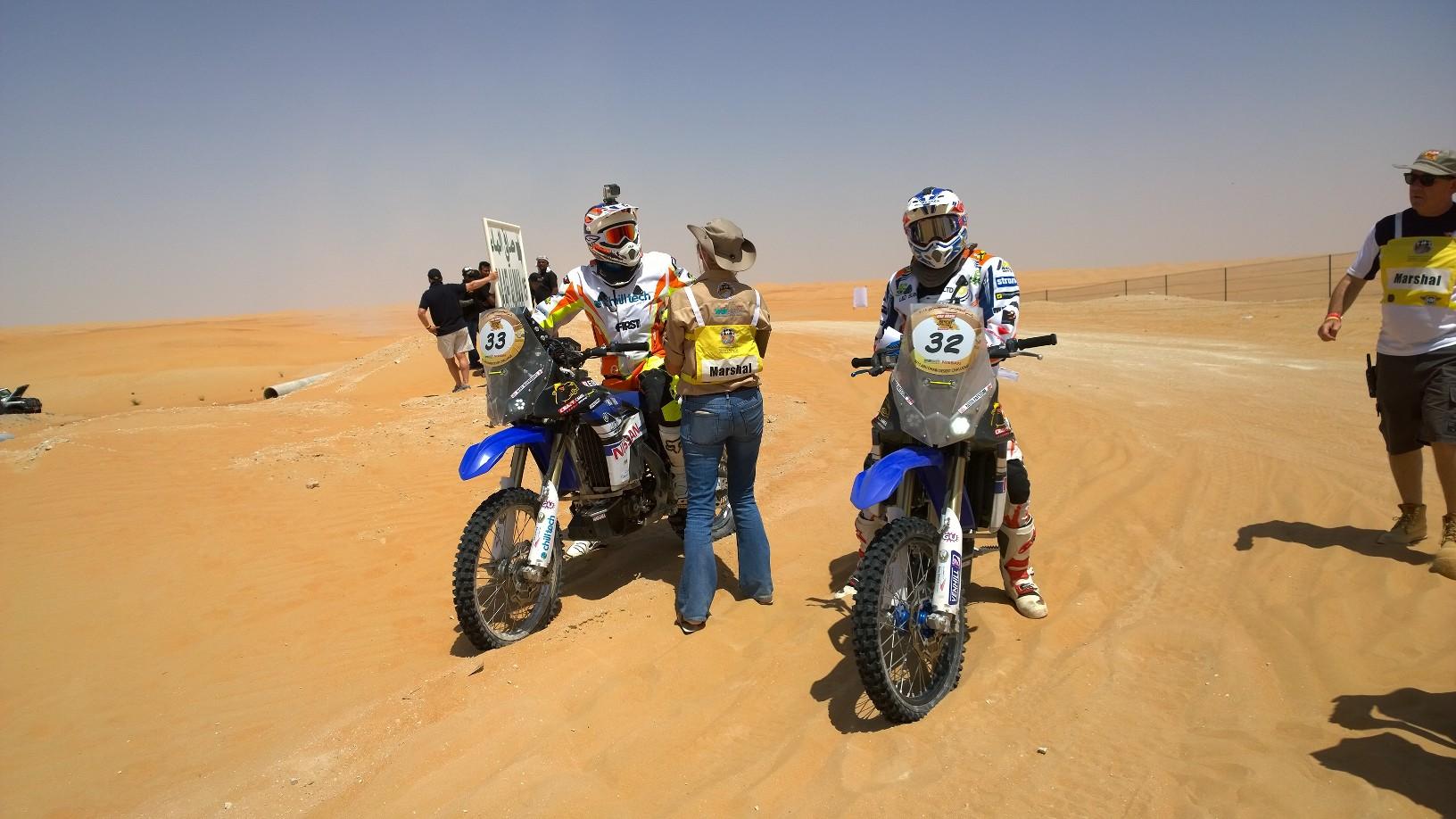 Abu Dhabi Desert Challenge 2015 Yamaha WR450F Rally 14