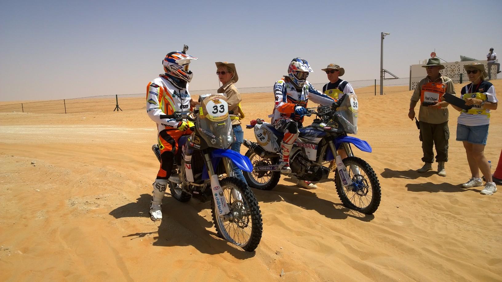 Abu Dhabi Desert Challenge 2015 Yamaha WR450F Rally 15