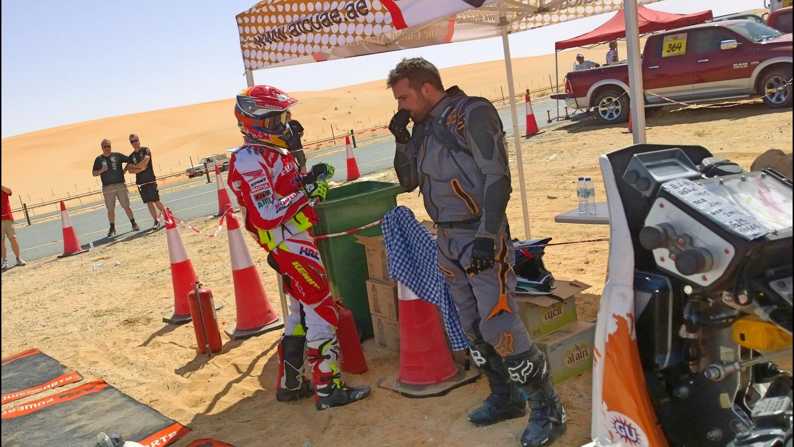 Abu Dhabi Desert Challenge 2015 Yamaha WR450F Rally 17