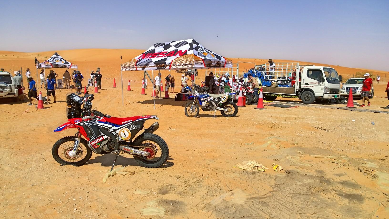 Abu Dhabi Desert Challenge 2015 Yamaha WR450F Rally 18