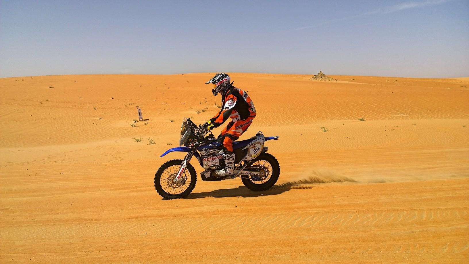 Abu Dhabi Desert Challenge 2015 Yamaha WR450F Rally 19