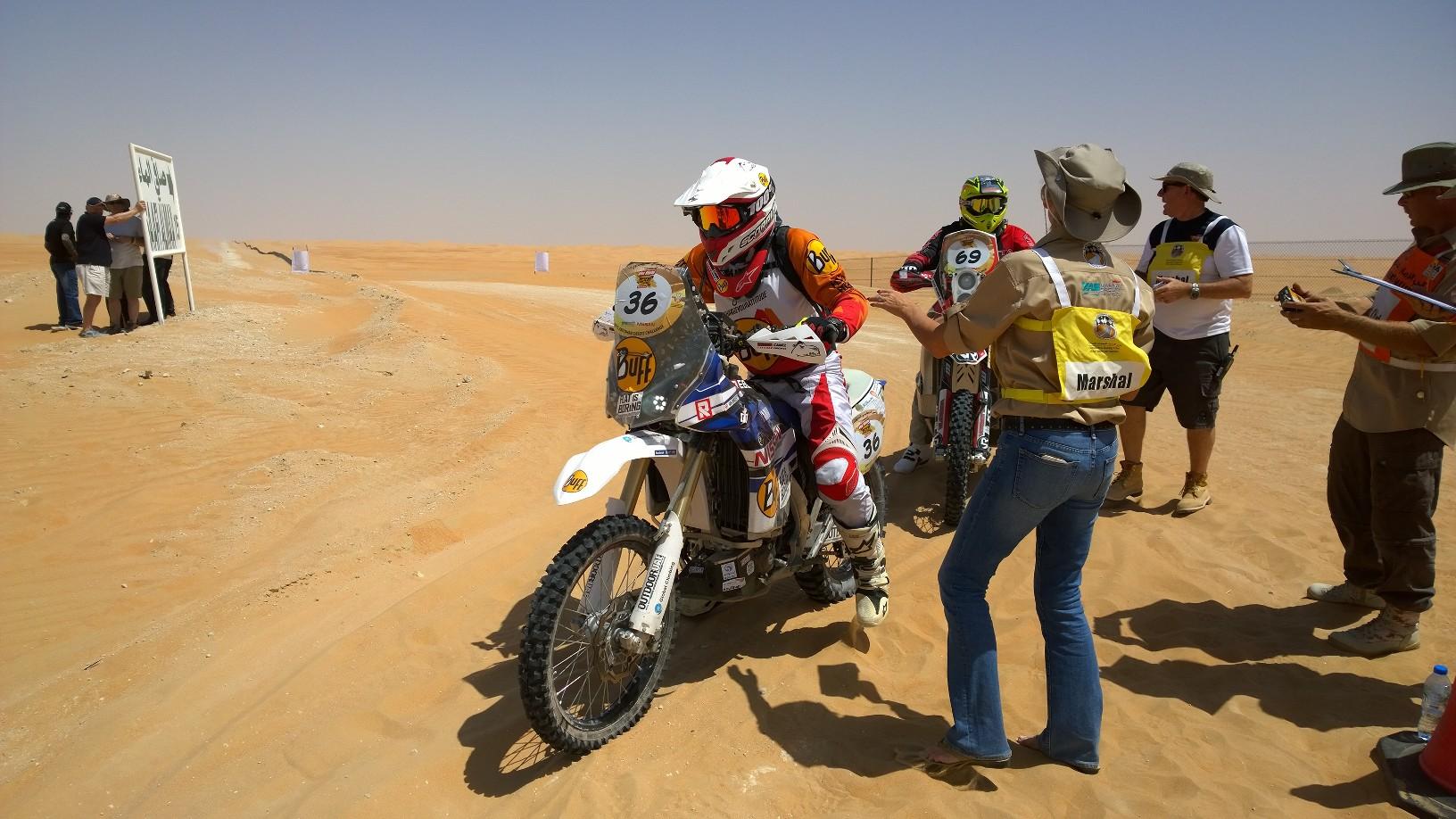 Abu Dhabi Desert Challenge 2015 Yamaha WR450F Rally 2