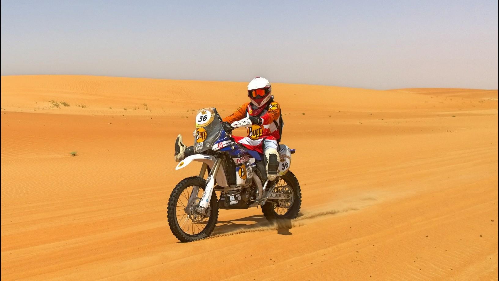 Abu Dhabi Desert Challenge 2015 Yamaha WR450F Rally 20