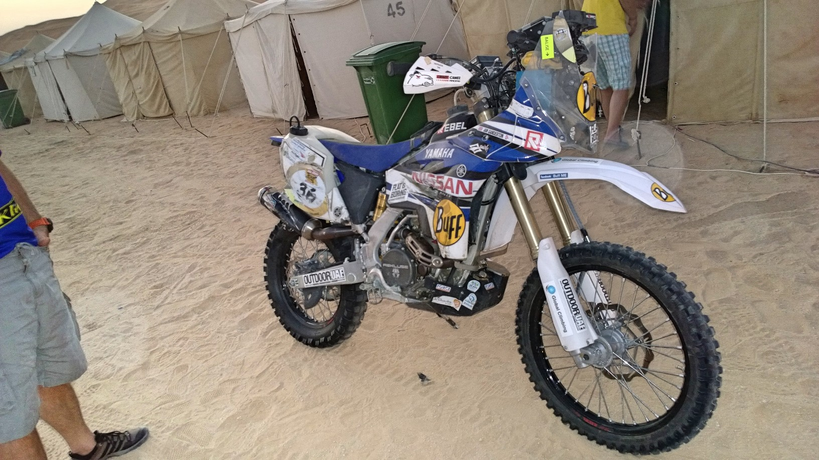 Abu Dhabi Desert Challenge 2015 Yamaha WR450F Rally 23