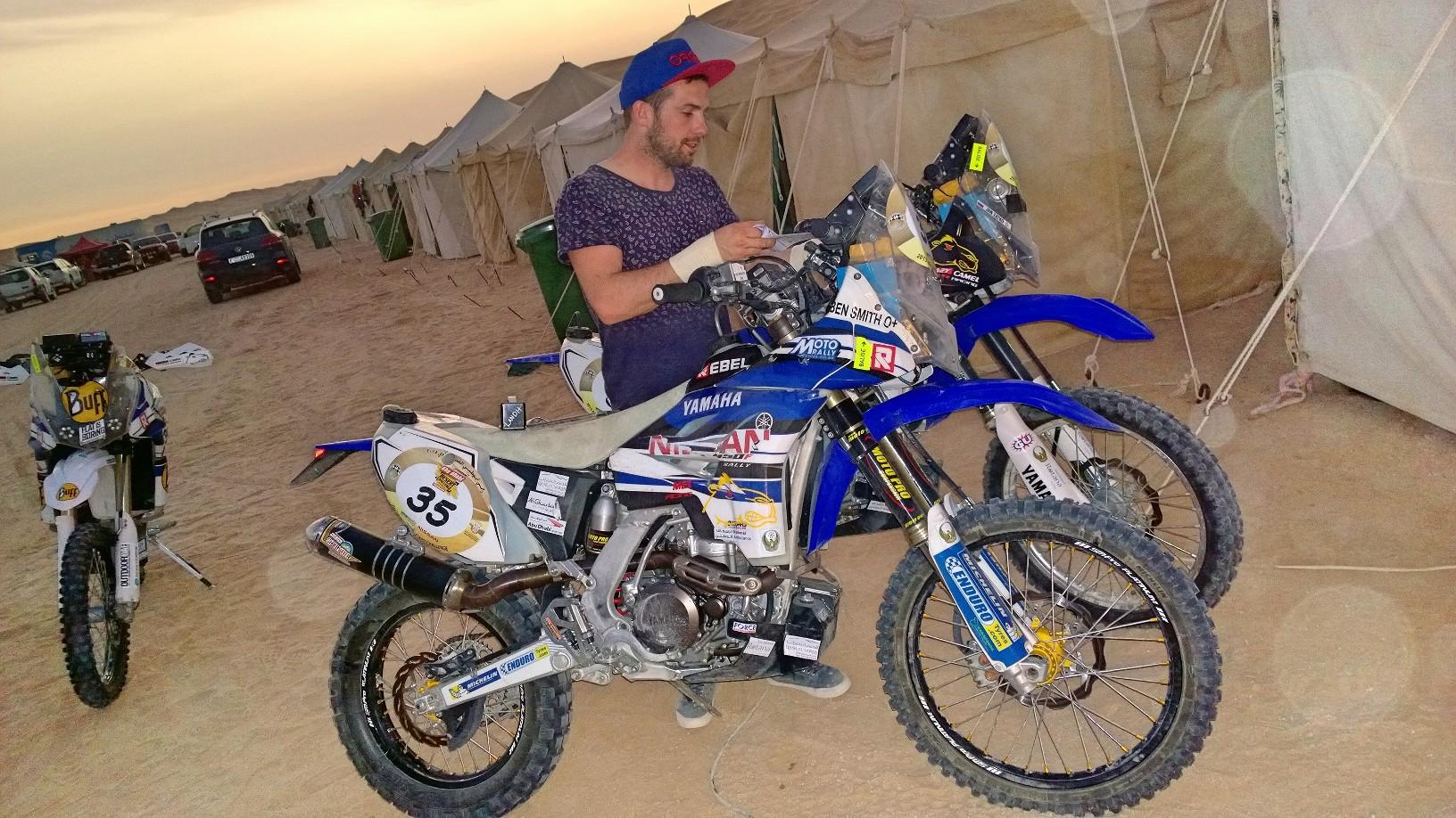Abu Dhabi Desert Challenge 2015 Yamaha WR450F Rally 25