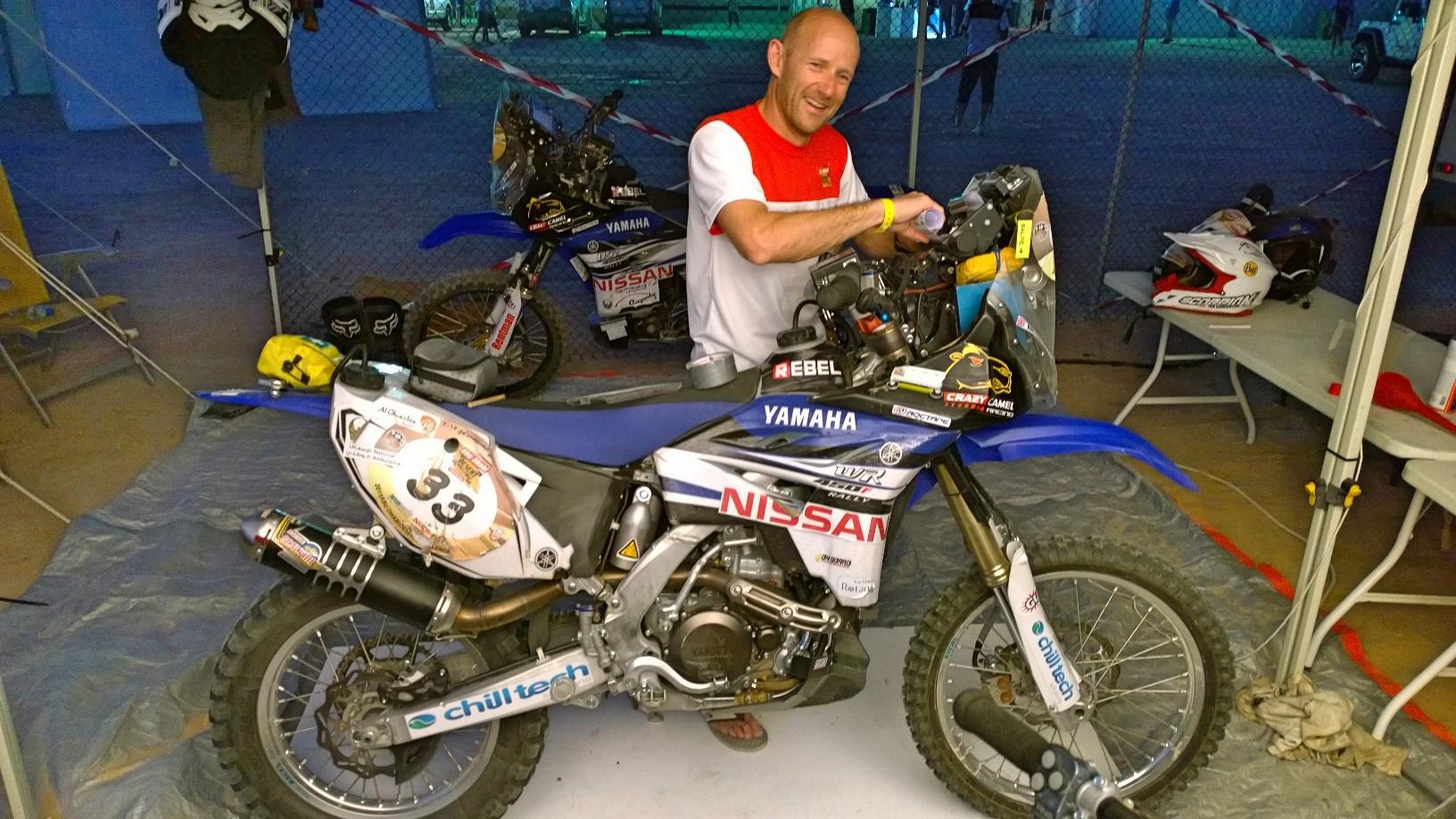 Abu Dhabi Desert Challenge 2015 Yamaha WR450F Rally 26