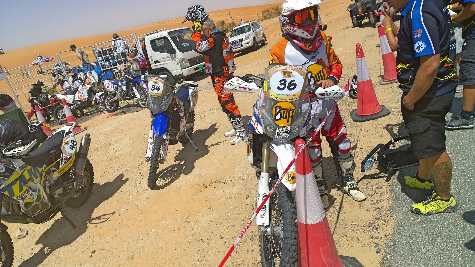 Abu Dhabi Desert Challenge 2015 Yamaha WR450F Rally 27