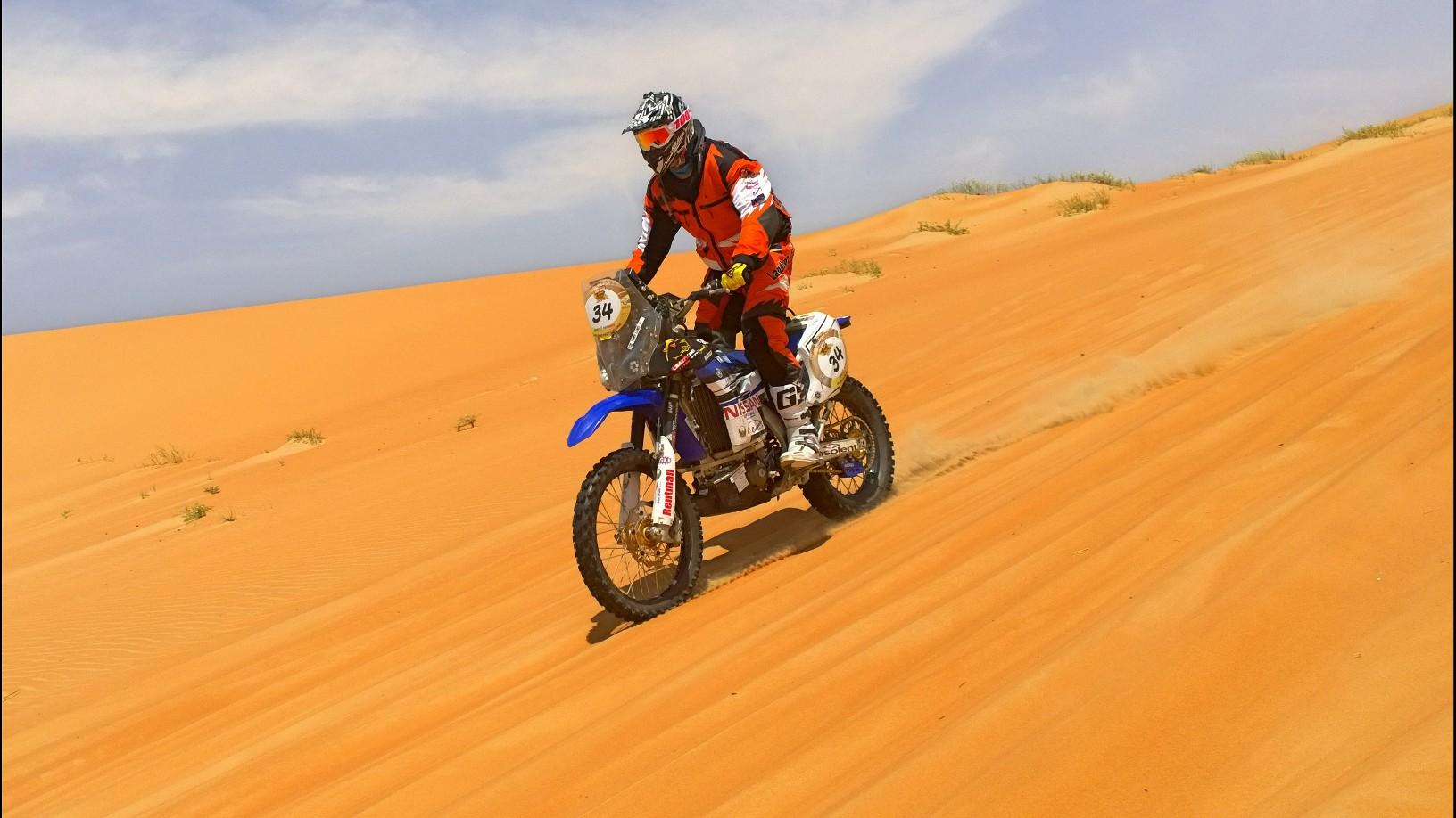 Abu Dhabi Desert Challenge 2015 Yamaha WR450F Rally 28