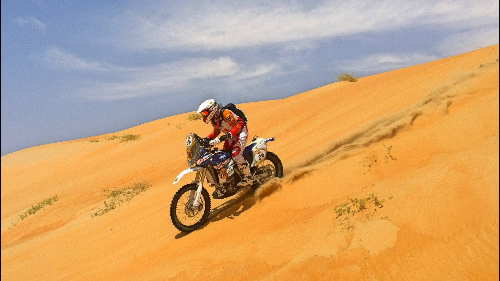 Abu Dhabi Desert Challenge 2015 Yamaha WR450F Rally 29
