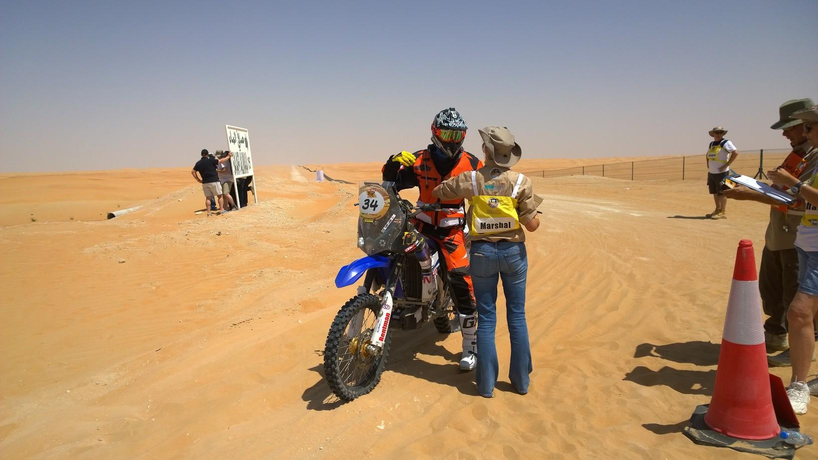 Abu Dhabi Desert Challenge 2015 Yamaha WR450F Rally 3