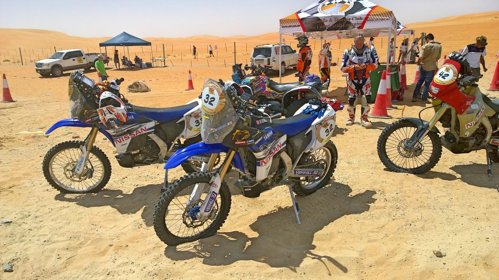 Abu Dhabi Desert Challenge 2015 Yamaha WR450F Rally 30