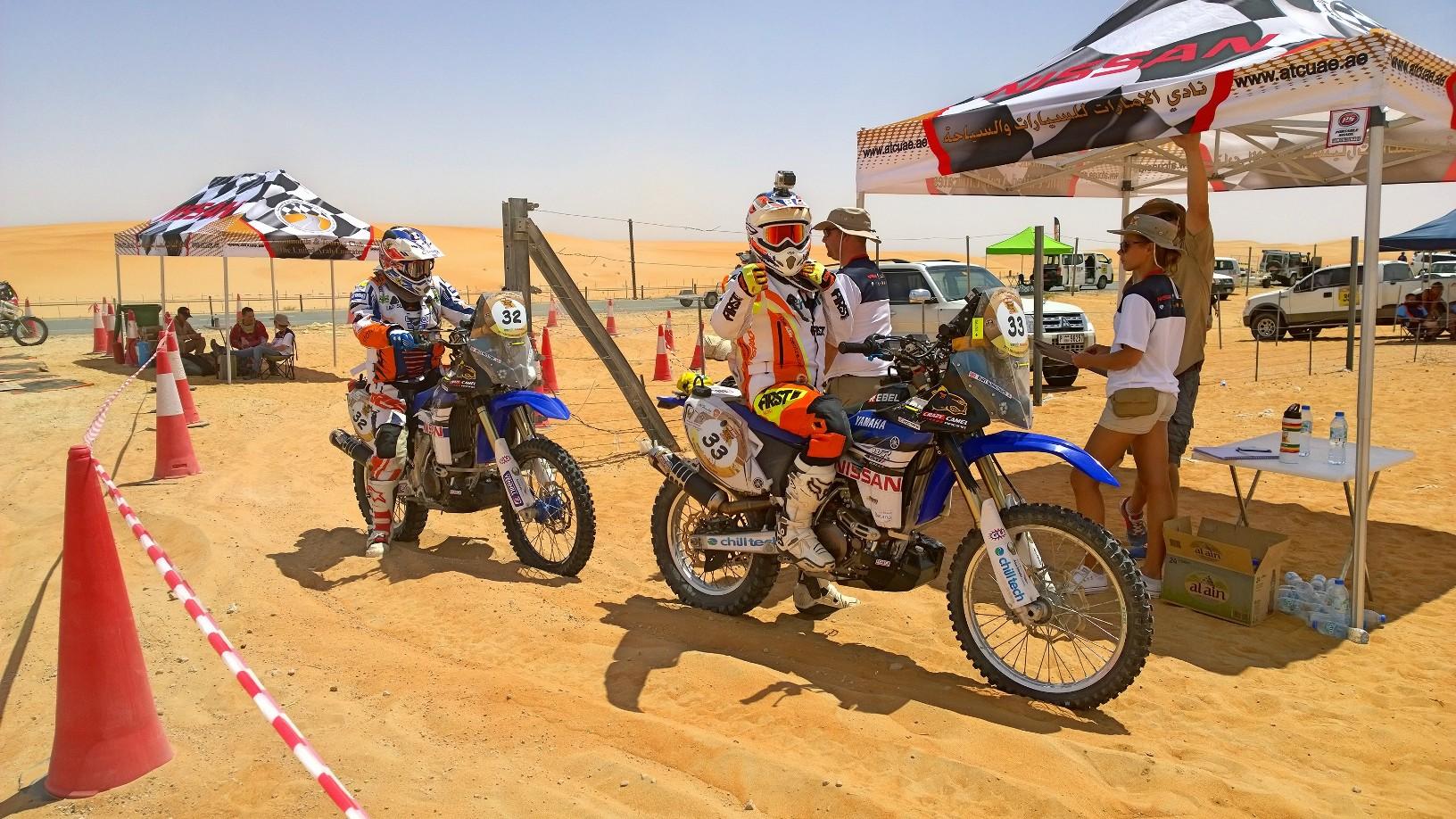 Abu Dhabi Desert Challenge 2015 Yamaha WR450F Rally 31
