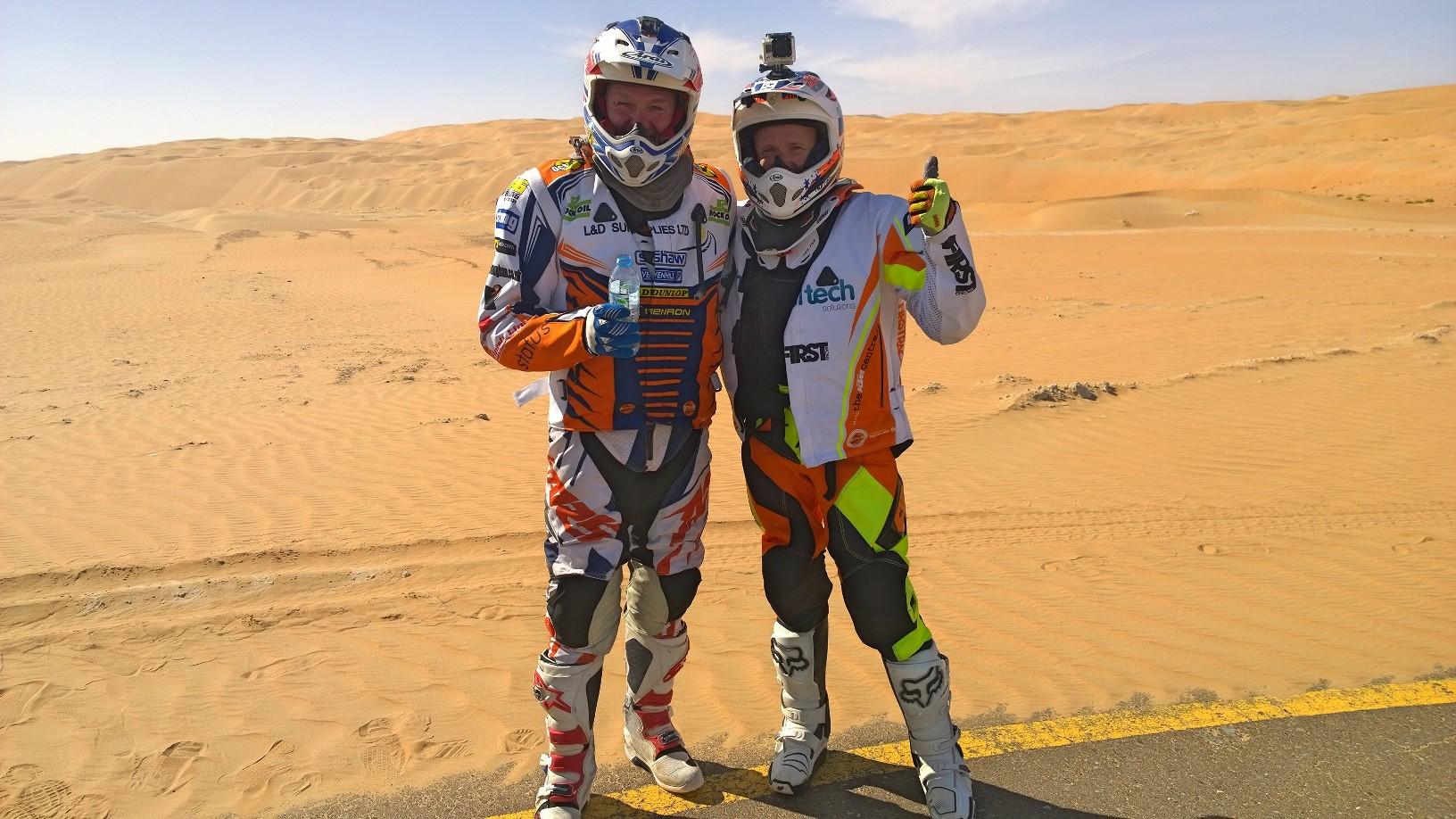 Abu Dhabi Desert Challenge 2015 Yamaha WR450F Rally 33