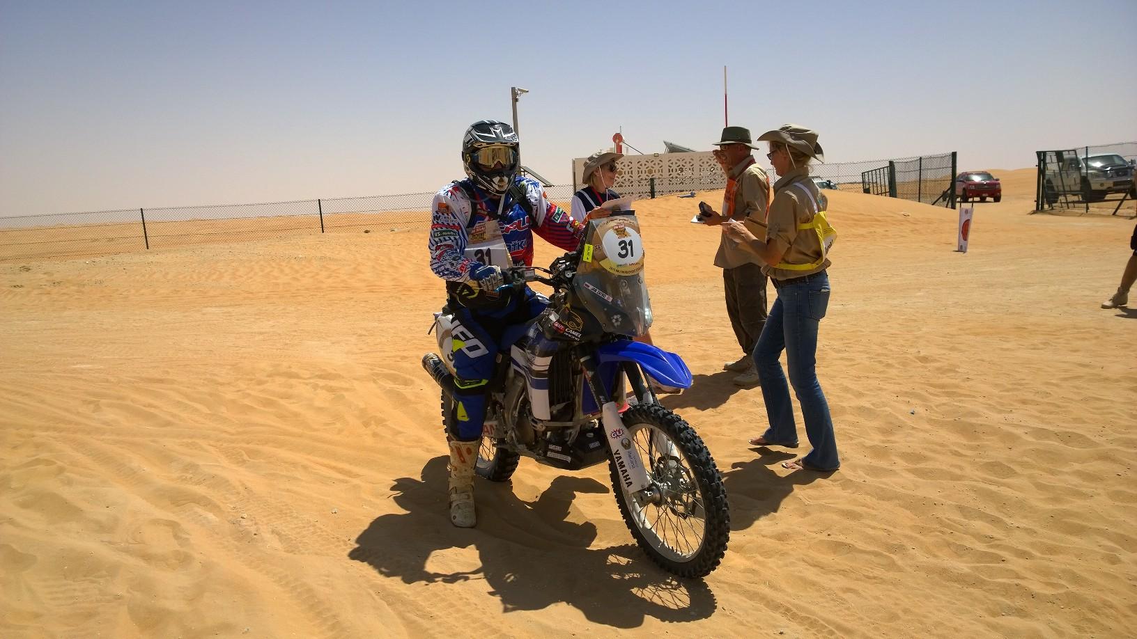 Abu Dhabi Desert Challenge 2015 Yamaha WR450F Rally 4