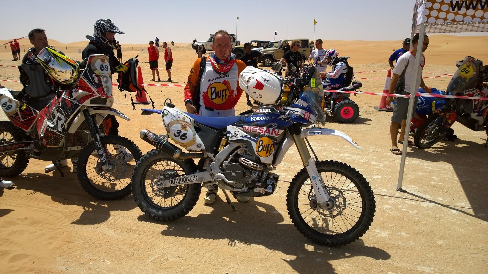 Abu Dhabi Desert Challenge 2015 Yamaha WR450F Rally 5