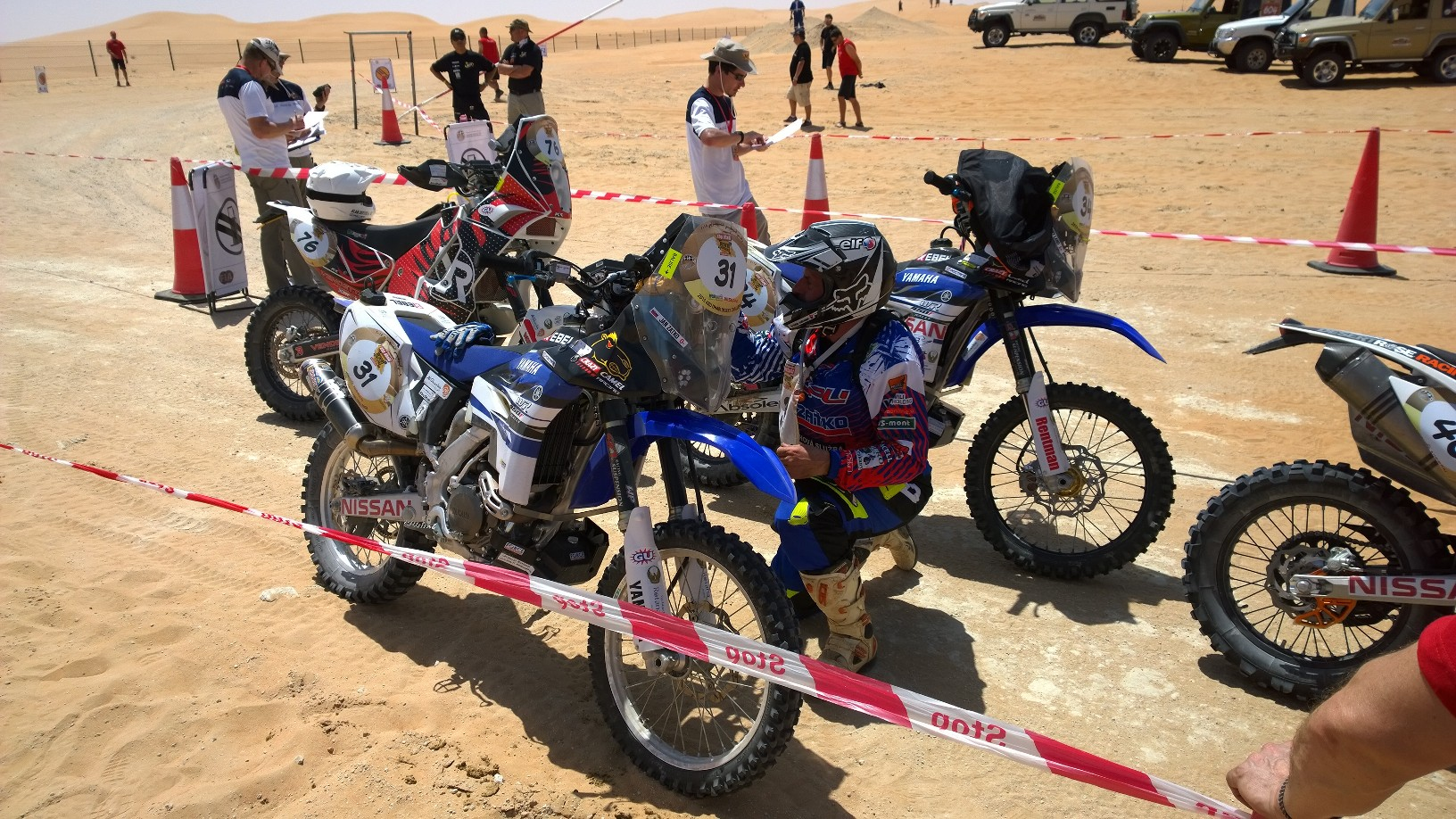 Abu Dhabi Desert Challenge 2015 Yamaha WR450F Rally 6
