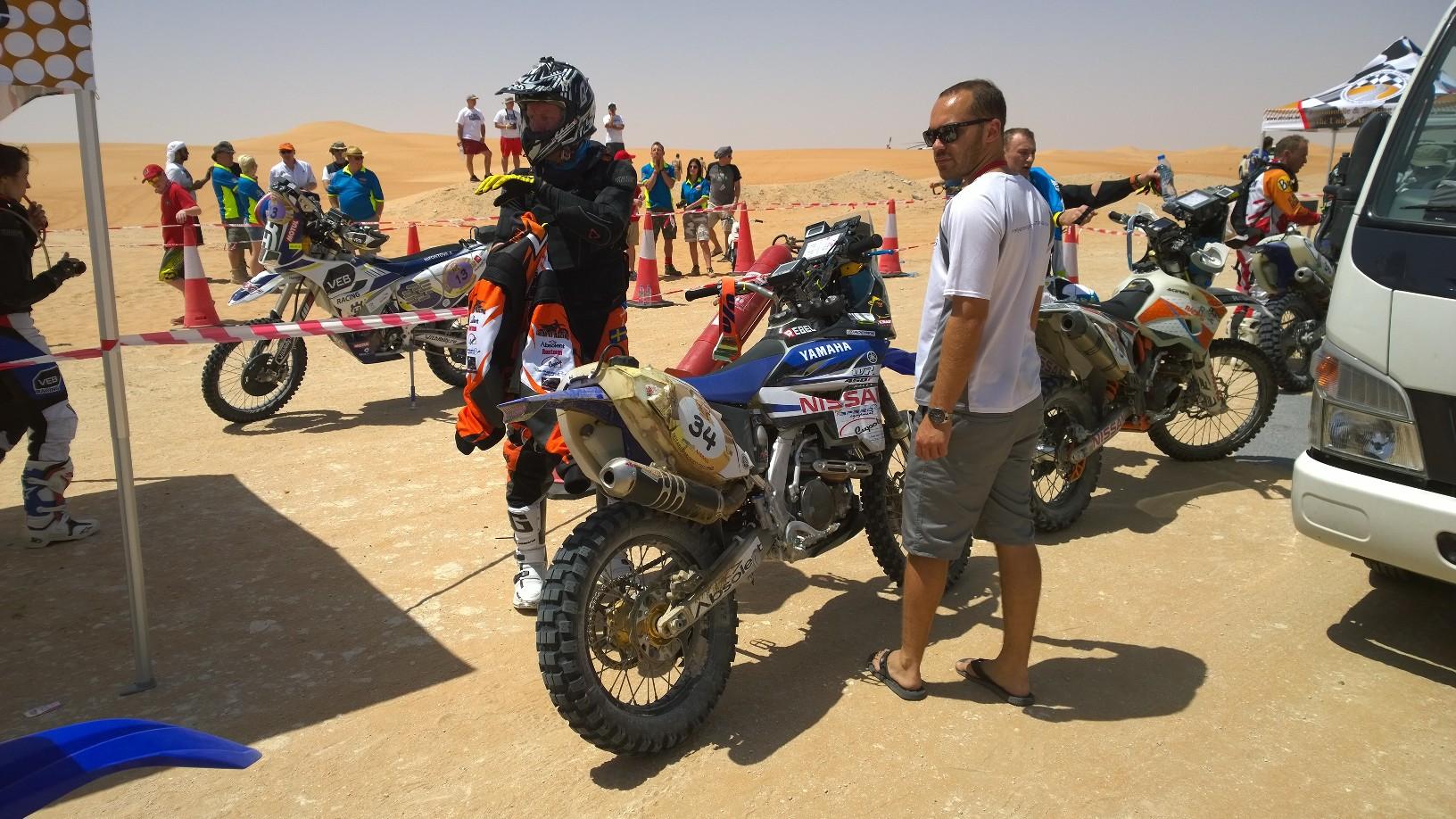Abu Dhabi Desert Challenge 2015 Yamaha WR450F Rally 7