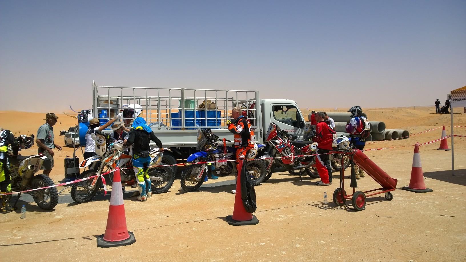 Abu Dhabi Desert Challenge 2015 Yamaha WR450F Rally 8