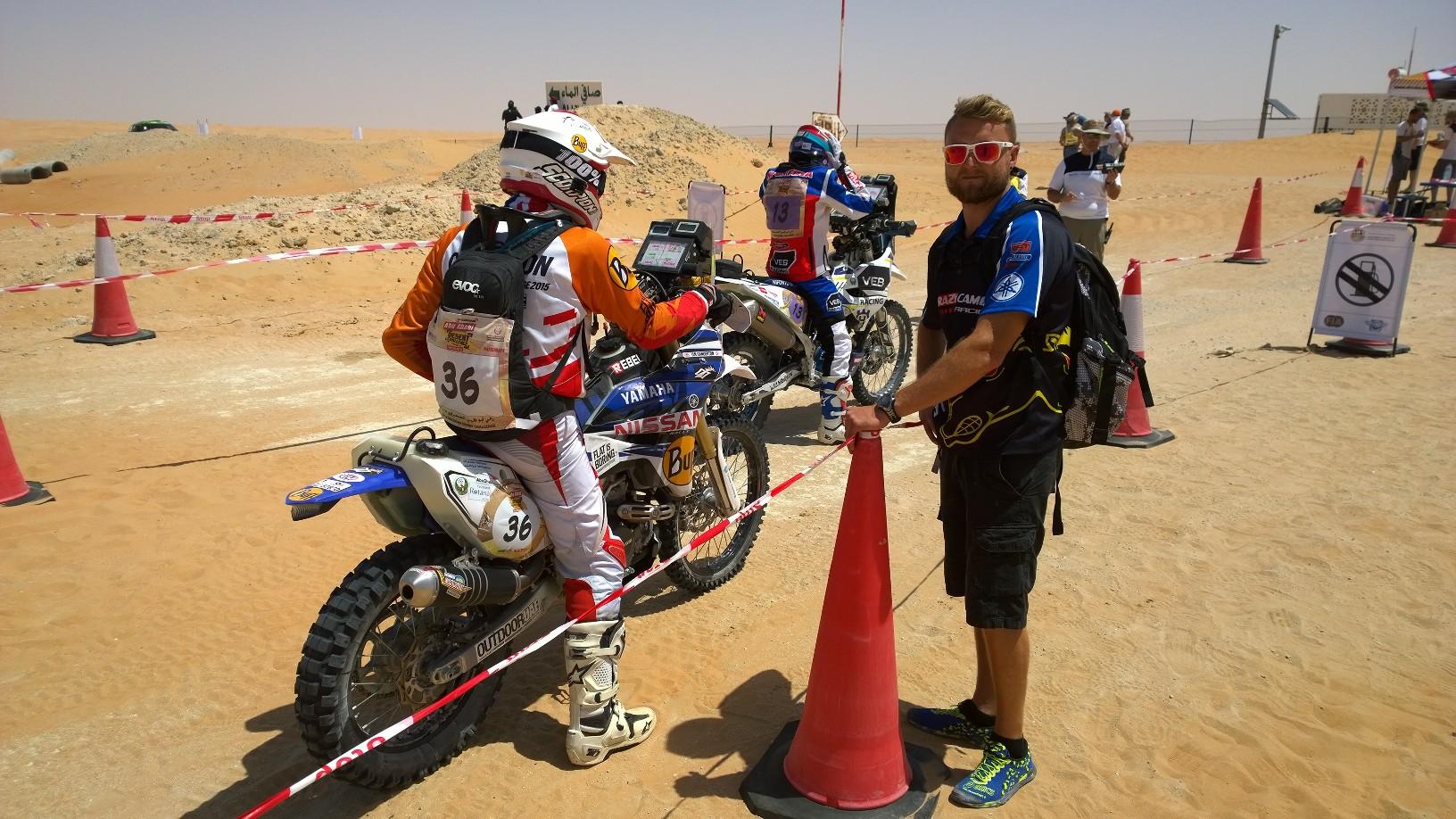 Abu Dhabi Desert Challenge 2015 Yamaha WR450F Rally 9
