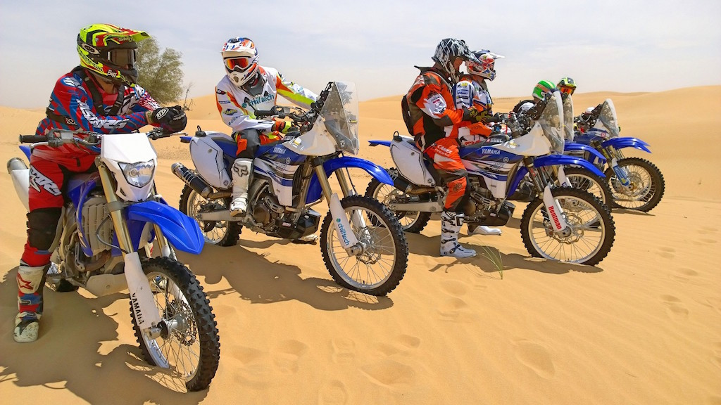 Adventure Tour Dubai Yamaha WR450F
