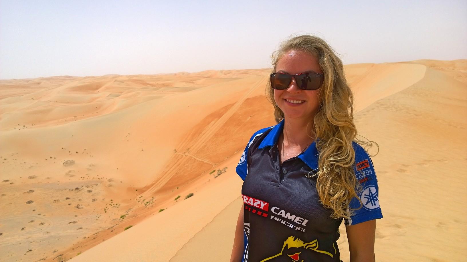 Yamaha Rally Dakar 2016 Girl