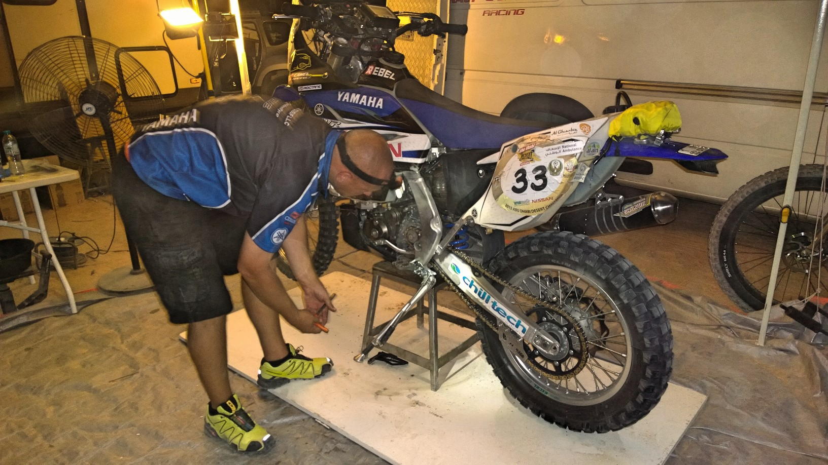 Yamaha Rally Dakar 2016 James West