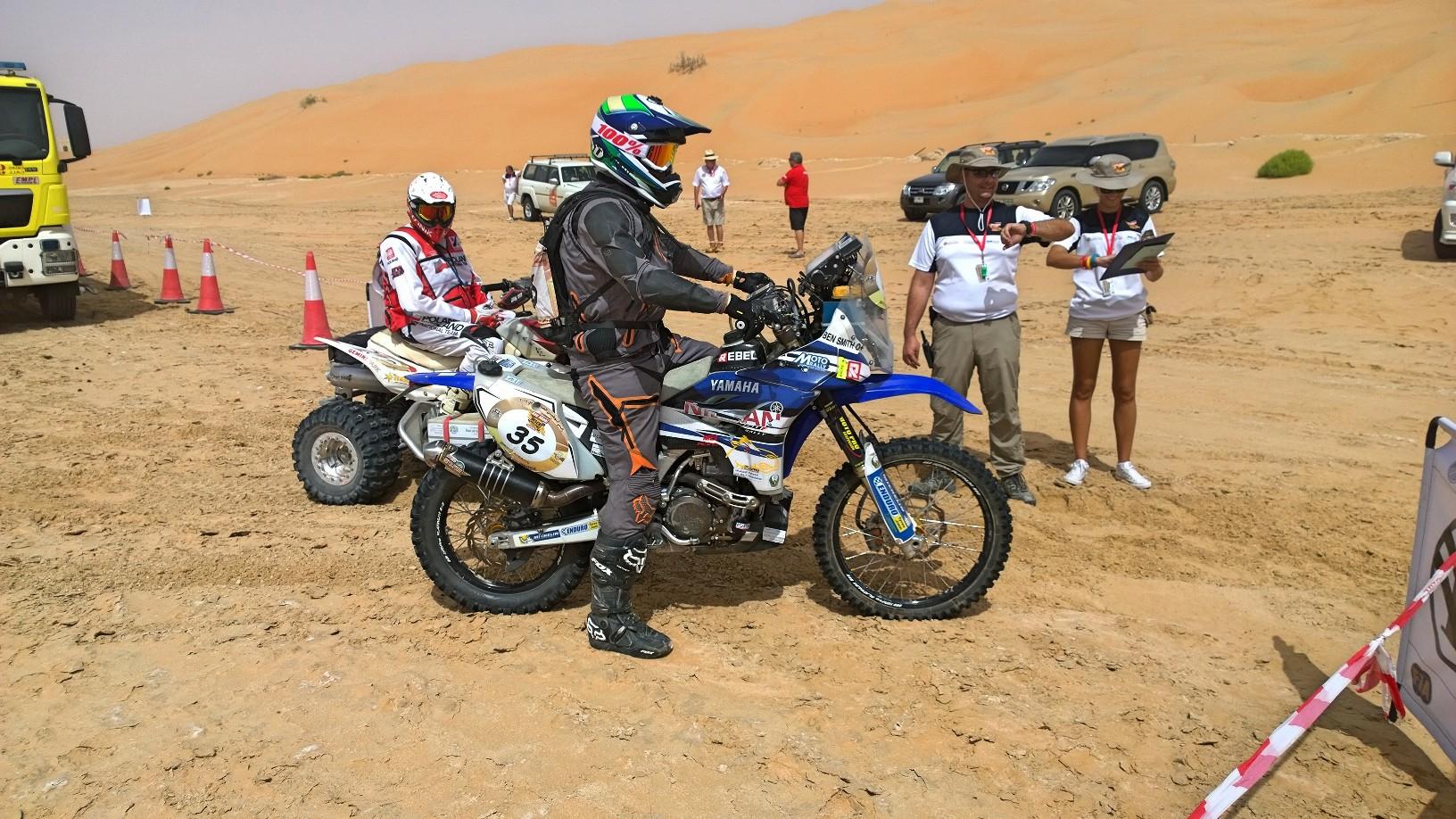 Yamaha Rally Dakar 2016 Team Service