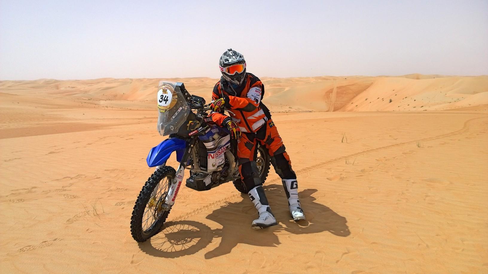 Yamaha Rally Dakar 2016 Tony Landh Desert Dunes