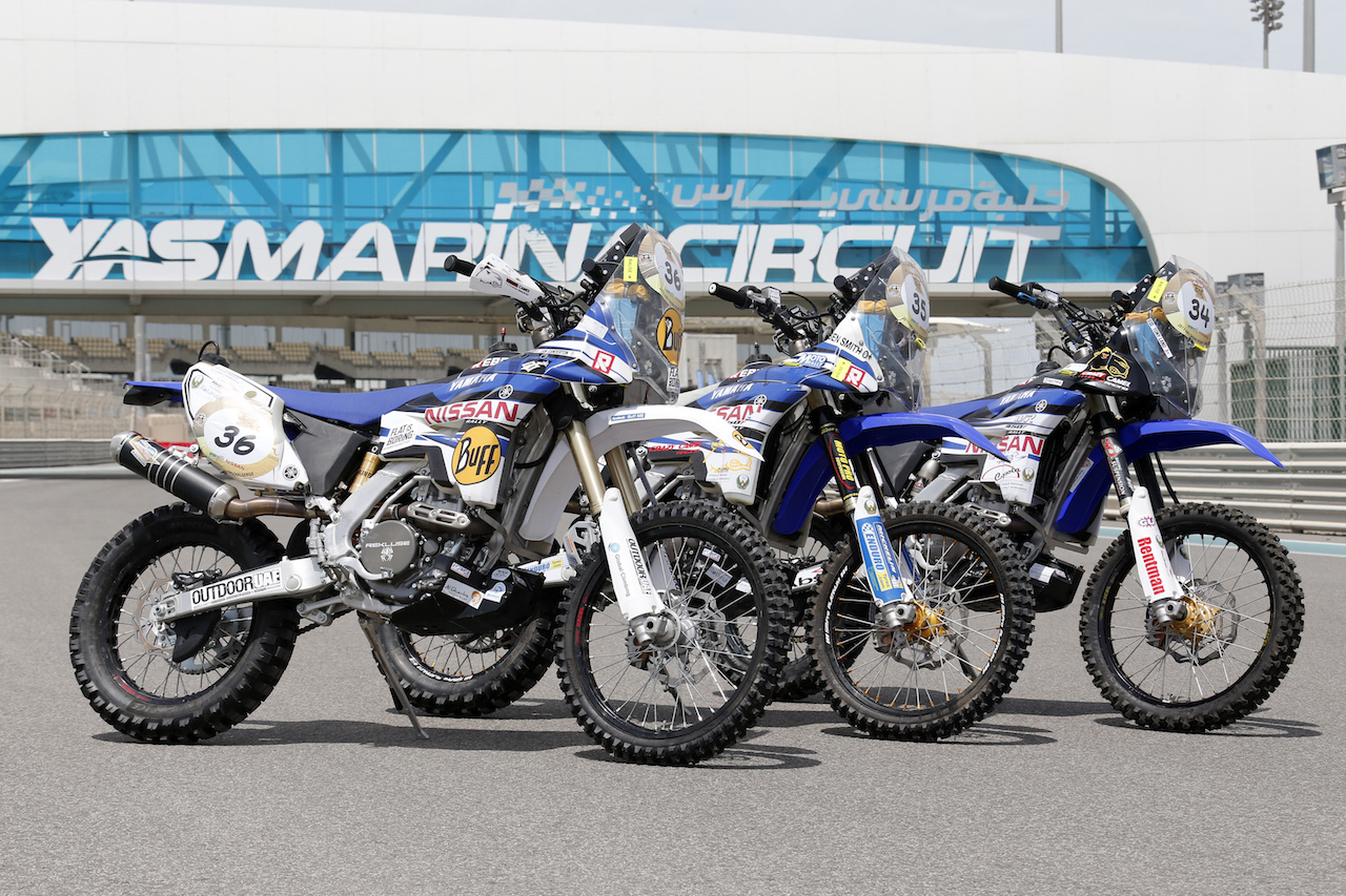 Yamaha WR450F Rally World Championship 3