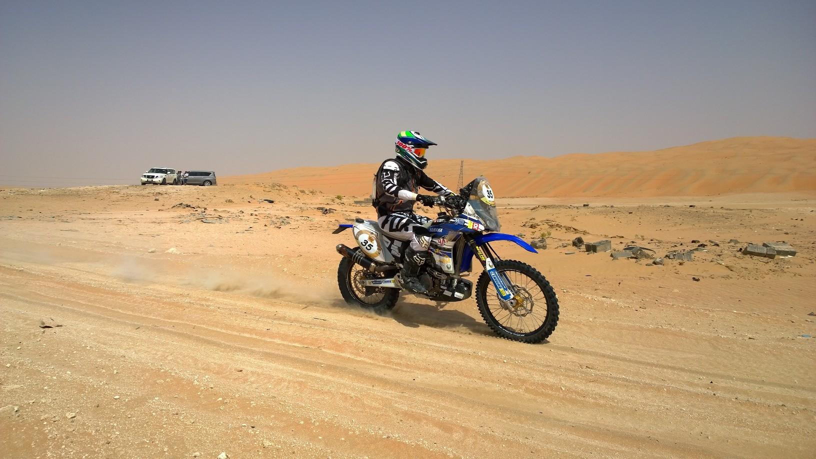 Yamaha Factory 450 Dakar 2016