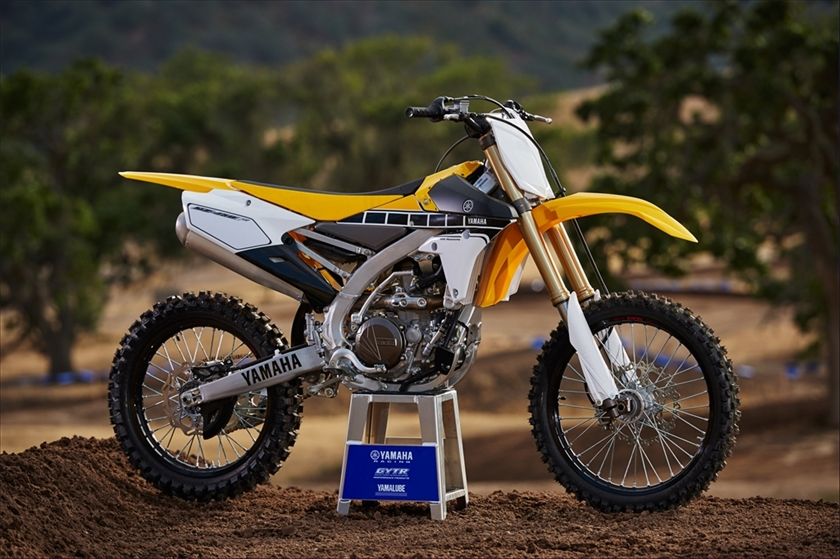 YZ450F 2016 Yellow
