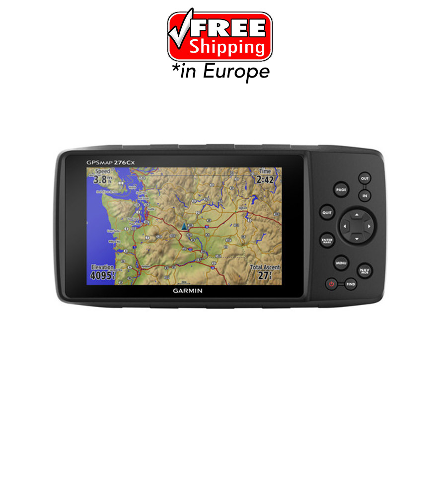 gps garmin 276cx rebel x sports srl. Black Bedroom Furniture Sets. Home Design Ideas
