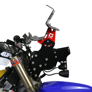 Yamaha WR Rally Navigation Tower Bracket Rebel MST Mecasystem MigTec Rally Bike