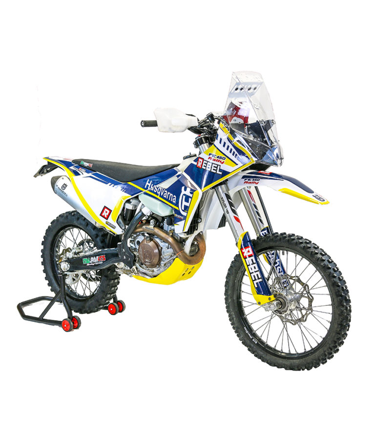 husqvarna fe 2017  2018 rally kit  u2013 rebel x sports srl
