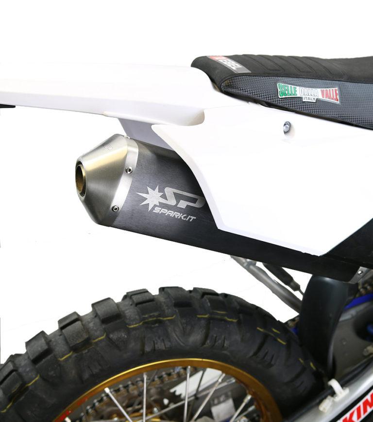 Yamaha WR450F Full Race Exhaust