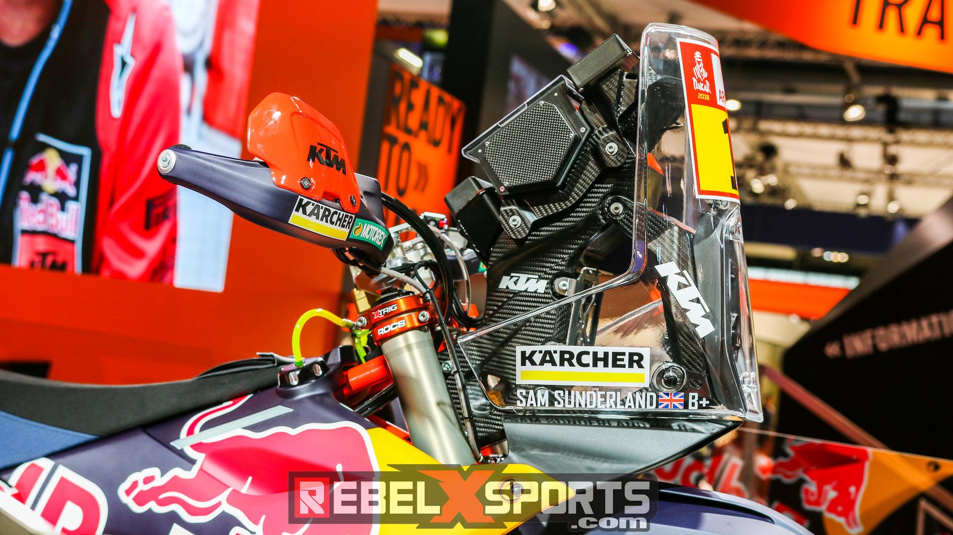 Carbon Fiber Bike Frame >> Detail Photos | New KTM Rally Replica 2018 – Rebel X ...