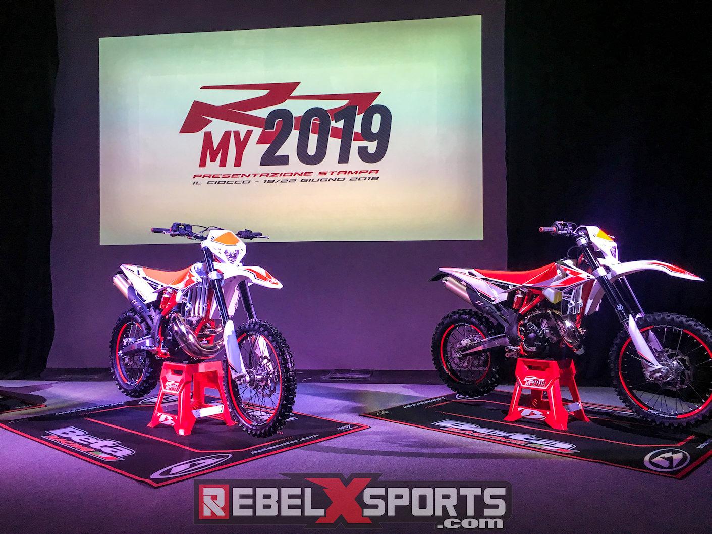 NEW 2019 BETA RR 200cc 2 Stroke and model range – Rebel X