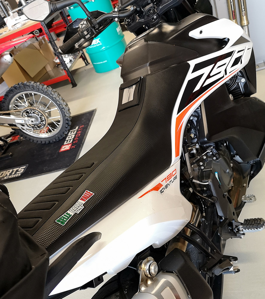 Ktm 790 Factory Rally Seat Cover Rebel X Sports Srl