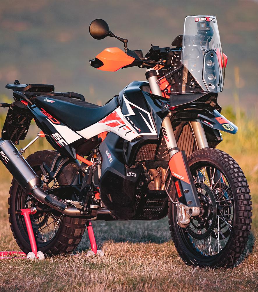 Ktm 790 Rally Kit Street Legal Rebel X Sports Srl