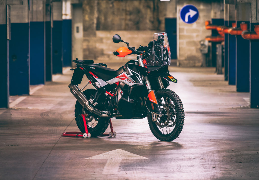 Ktm 790 Rally Kit Official Release Rebel X Sports Srl